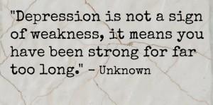 Depression Pciture